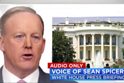 Spicer Asked About Trump's Latest Russia...