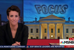 Maddow: Trump untroubled harming presidency