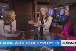 Dealing with toxic employees