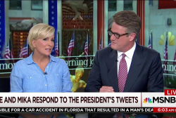 Joe: For some reason, he goes after Mika
