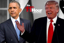 On the global stage Trump blasts Obama &...