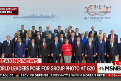 World leaders pose for group photo at G20