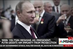 The rise to power of Vladimir Putin