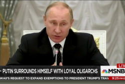 Putin regime marked by graft and corruption
