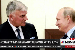 Russia makes inroads with American right