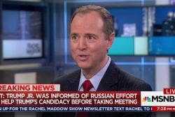 Schiff on potential Trump Russia criminality