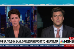 Trump Jr. story 'not closed by any measure'