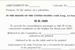 Senate GOP Leaders Unveil Health Care Bill