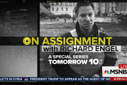 On Assignment with Richard Engel, 10pm Friday