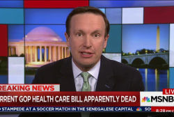 Murphy: GOP health bill a 'train wreck'