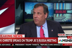 Christie: 'Confident' Trump didn't know...