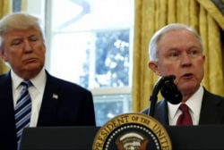 WaPo: Trump may replace AG Sessions during...