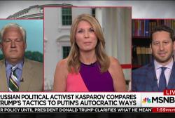 Russian activist compares Trump's tactics...