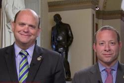 Bi-partisan congressman find common ground...