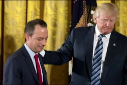 Ex-Chief of Staff: Manner of Priebus...