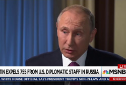 Trump silent as Putin expels diplomatic staff