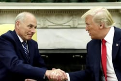 Kelly enters a White House fixated on...