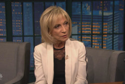 Andrea Mitchell on being a female...