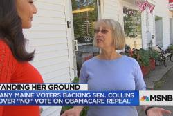 "Maine voters react to Sen. Collins' ""No""..."