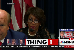 Rep. Maxine Waters Reclaims Thing 1/Thing 2
