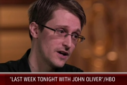 HBO host to Snowden: You have to 'own' this