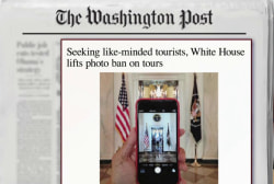 If you visit White House, you can now do this