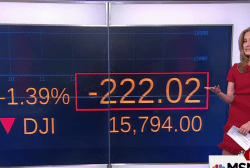 Stocks tumble at open of the market