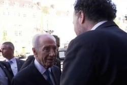 MJ remembers Shimon Peres