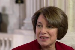 Klobuchar: 'Many of us have serious...