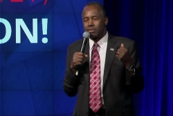 'That's just dumb': Carson's 'immigrants'...