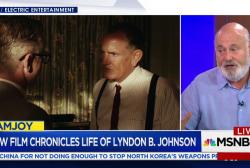 New film chronicles life of Lyndon B. Johnson