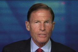 Sen. Blumenthal reacts to Trump tweets...