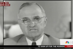 Trump echoes Truman but situation differs