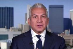 Hispanic leader on why he hasn't yet left...