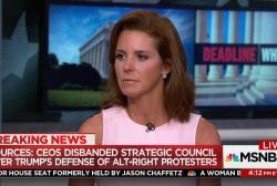 Ruhle: CEOs had decided to quit Trump's...