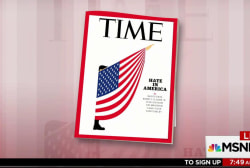 In new issue, Time Magazine looks at 'Hate...