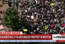Reclaiming symbol of oppression at Boston...