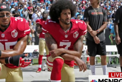Colin Kaepernick support spreads to NYPD...