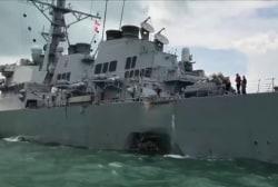 Sailors missing after Navy Destroyer...