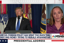 Trump takes ownership of Afghanistan war