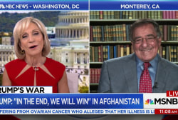 Trump Afghan strategy needed 'a set of...
