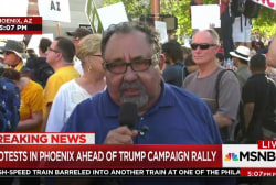 AZ Rep.: I wouldn't feel safe at Trump rally