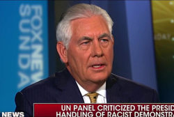 Is Tillerson right in saying Trump speaks...