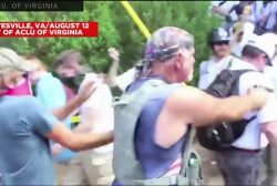 Shooter at Charlottesville rally arrested