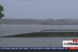 Houston hazards multiply as flooding worsens