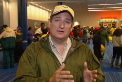 Cruz Explains Harvey Aid Request Despite...