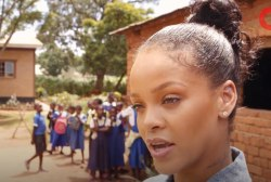 Rihanna Promotes Global Education in Malawi