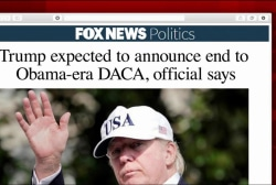 Will Trump make DACA announcement Friday...