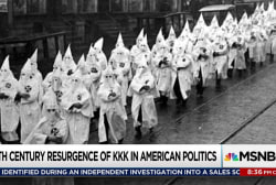 Klan's resurgence foreshadowed by Wilson