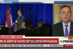Don Jr. to Senate: I did seek dirt on...
